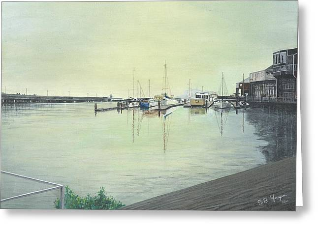 San Franciscio Bay Greeting Card