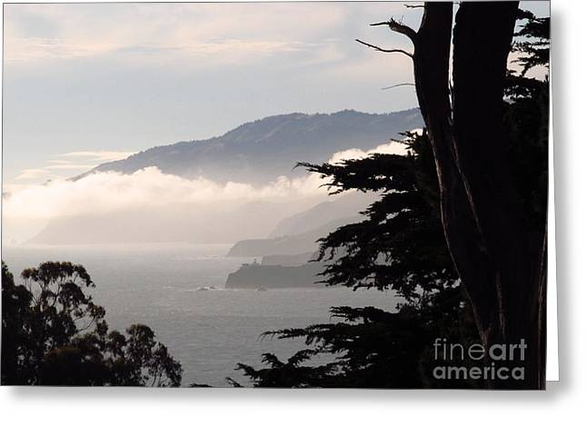 San Francisco Bay Fog Greeting Card
