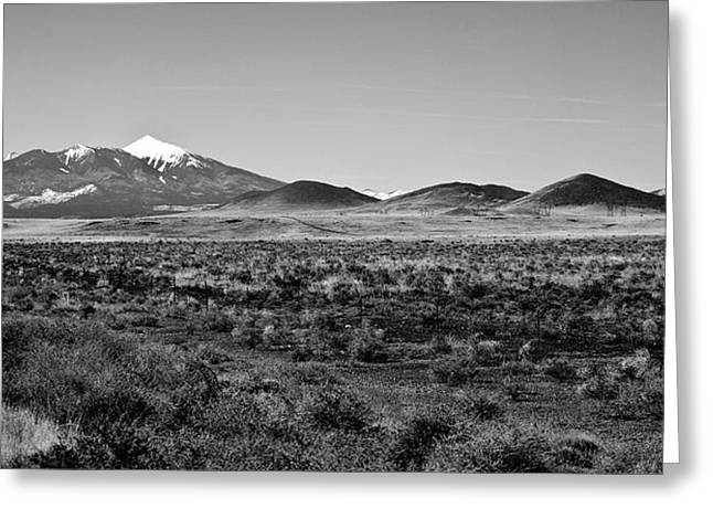 San Francisco Peaks Greeting Card by Gilbert Artiaga