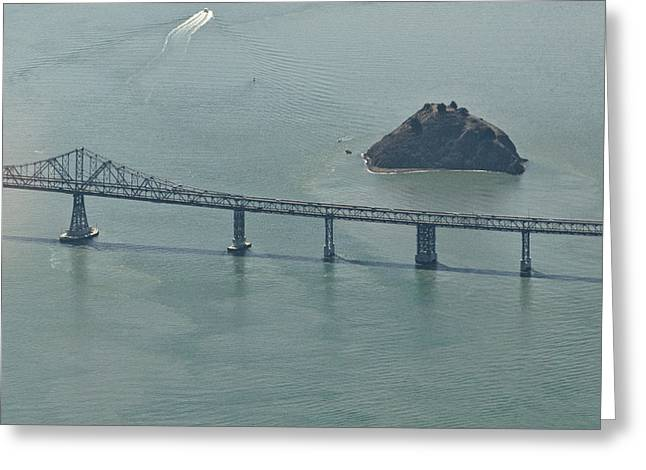 San Franciscos Richmond-san Rafael Bridge Greeting Card