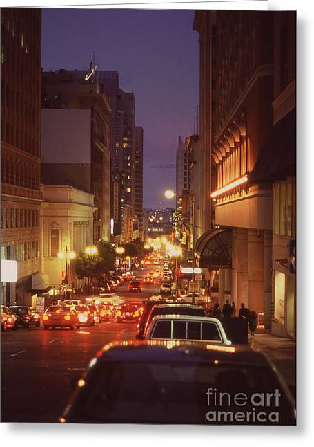 San Francisico Street Greeting Card