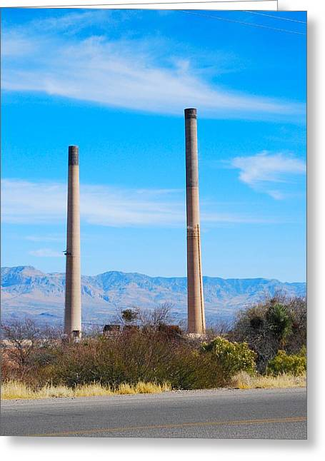 San Manuel 2 Greeting Card by T C Brown
