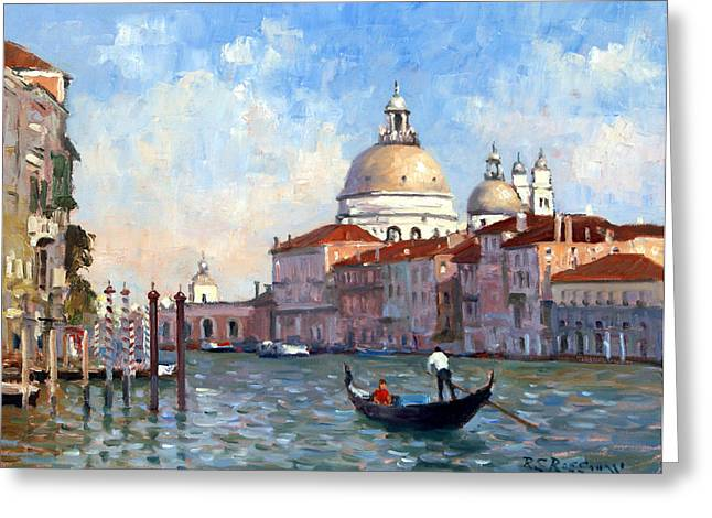San Salute Venice Greeting Card