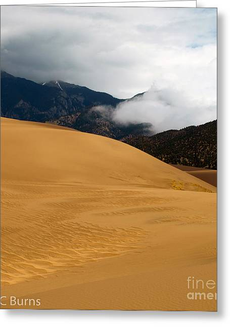 Sand In The Mountains Greeting Card by John Burns