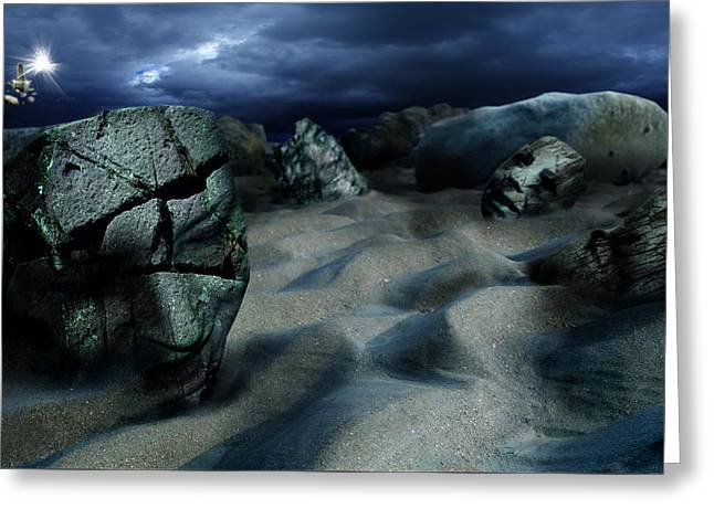 Sands Of Oblivion Greeting Card