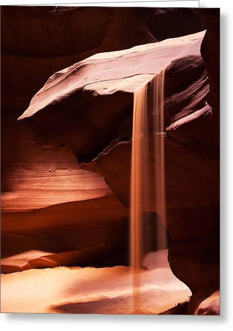 Sands Of Time Greeting Card by James Marvin Phelps