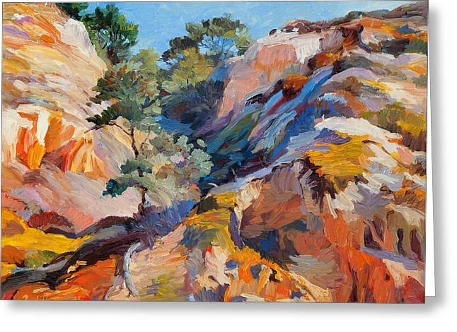 Sandstone Canyon Greeting Card