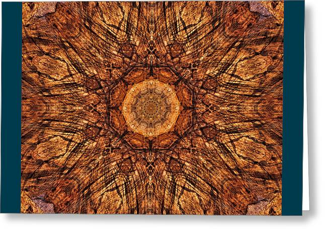 Sandstone Reflections Greeting Card by Gregory Scott