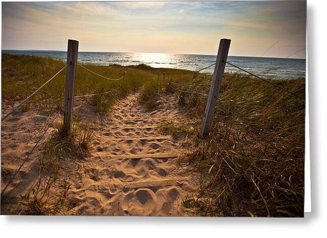 Sandswept Greeting Card by Jason Naudi Photography