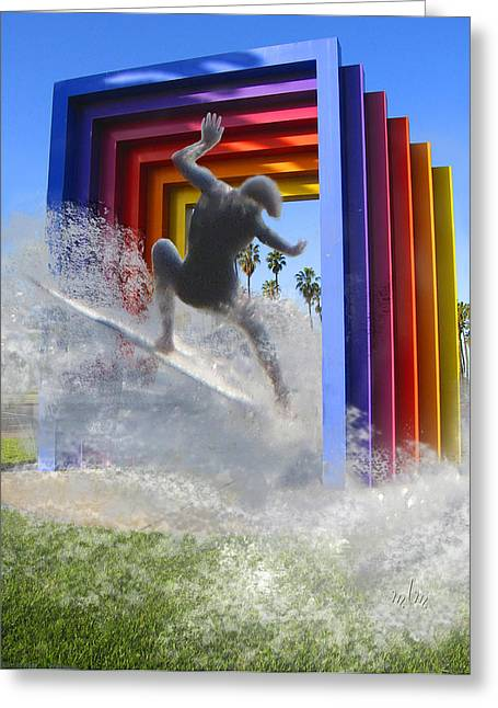 Santa Barbara Dream 1 Greeting Card