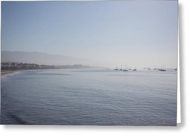 Santa Barbara Greeting Card by Ralf Kaiser