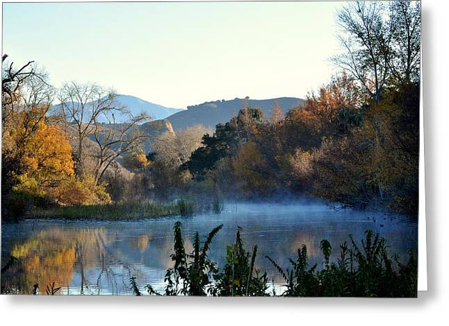 Santa Ynez River Greeting Card