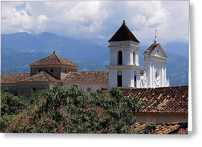 Santafe De Antioquia Greeting Card by Blair Wainman