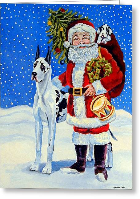 Santa's Helpers Greeting Card