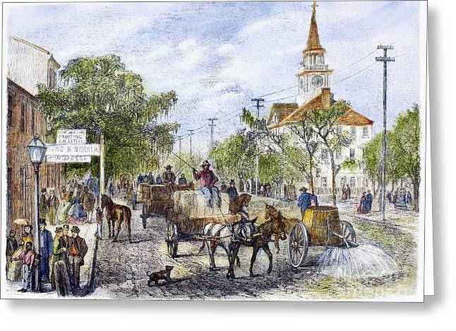 Savannah, Georgia, 1867 Greeting Card by Granger