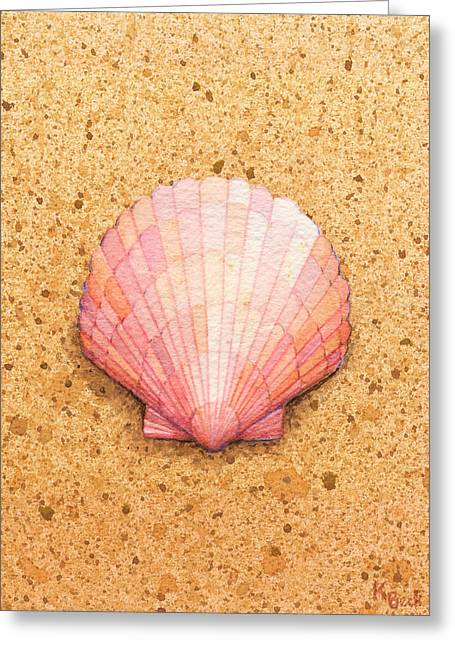 Scallop Shell Greeting Card