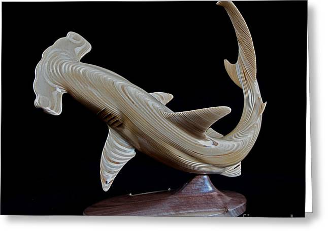 Scalloped Hammerhead Greeting Card