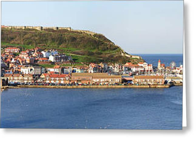 Scarborough Panorama Greeting Card