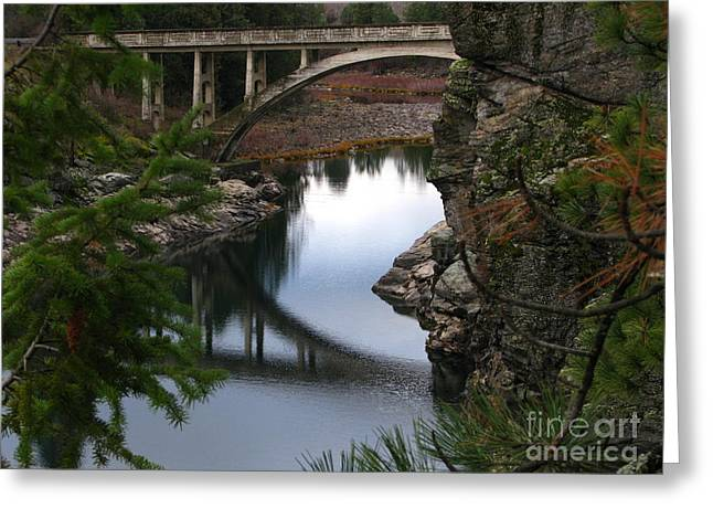 Scenic Fashion Greeting Card by Greg Patzer