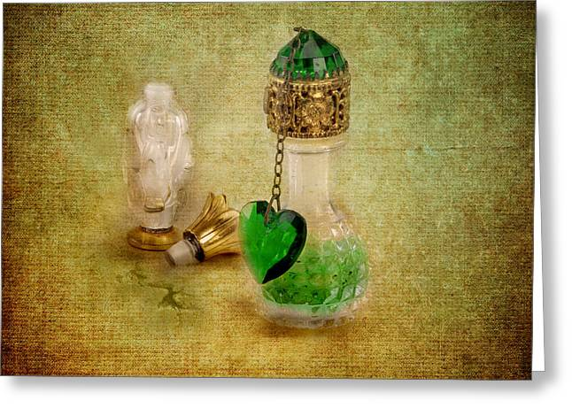 Scents Of Days Gone By Greeting Card by Jai Johnson