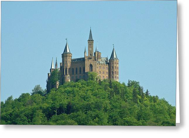 Schloss Hohenzollern Germany Greeting Card