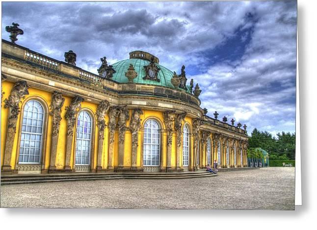 Schloss Sanssouci     Berlin Greeting Card by Jon Berghoff