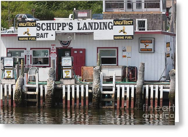 Schupp's Landing I Greeting Card
