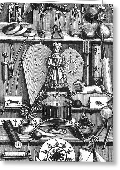 Science In The Nursery, Frontispiece Greeting Card by Science Source