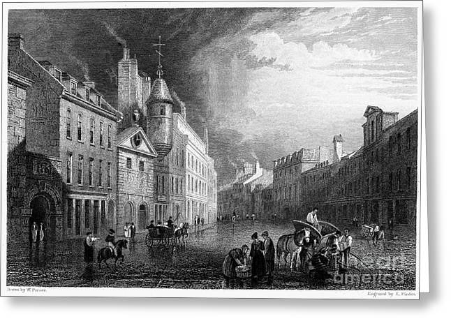 Scotland: Aberdeen, 1833 Greeting Card