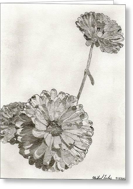 Scottish Flowers Greeting Card