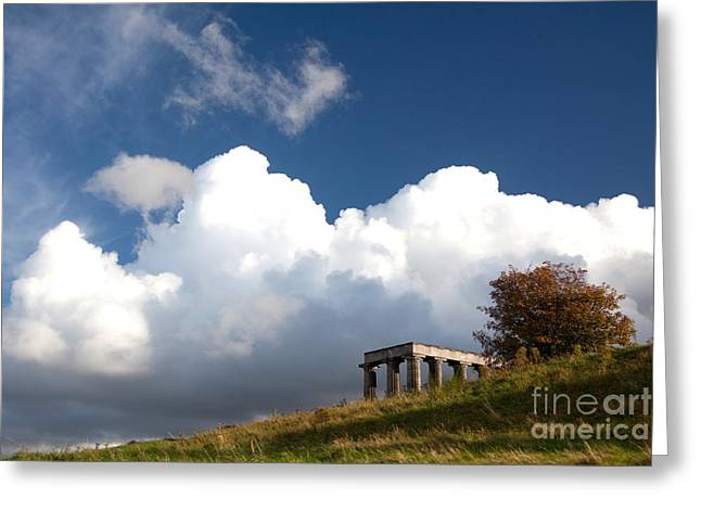 Scottish National Monument On Calton Hill Greeting Card