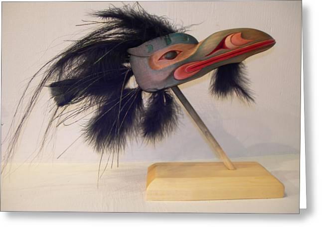 Sea Raven Greeting Card by Shane  Tweten