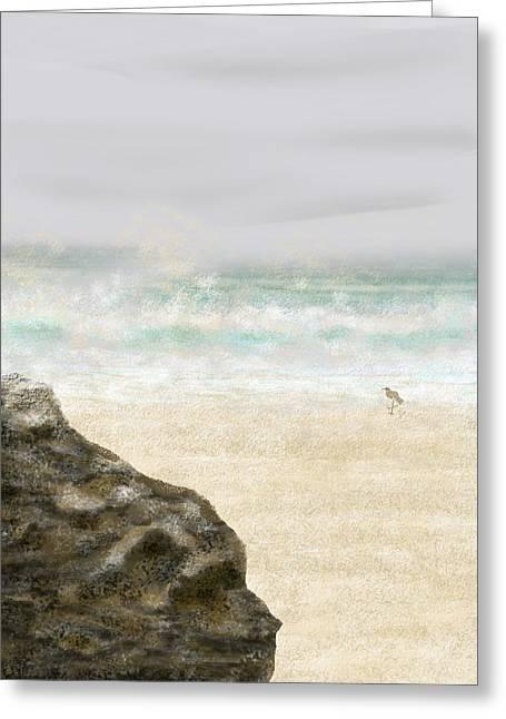 Sea Song Greeting Card by Peri Craig