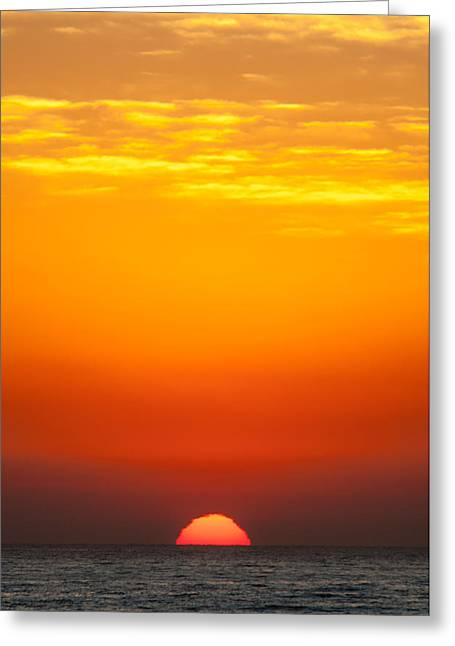 Sea Sunrise Greeting Card