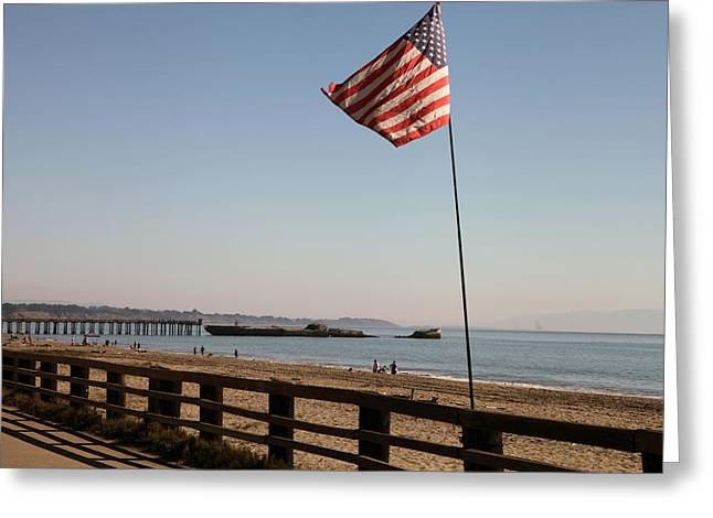 Seacliff Beach Greeting Card
