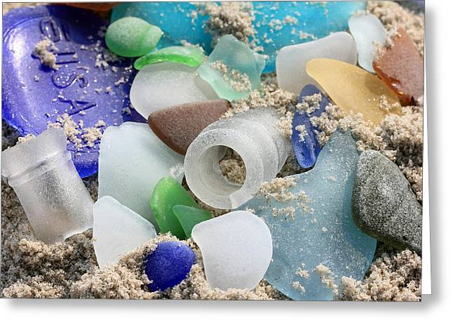 Seaglass Study IIi Greeting Card