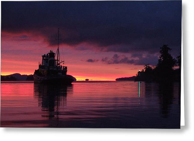 Seahorse At Dawn Greeting Card by Mark Alan Perry