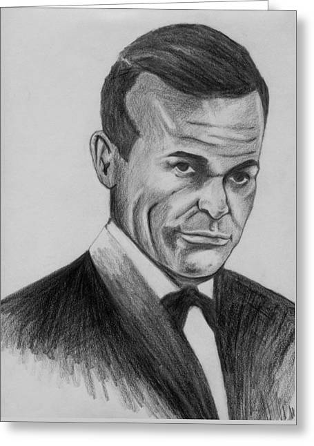 Sean Connery As 007 Greeting Card by Roy Williams