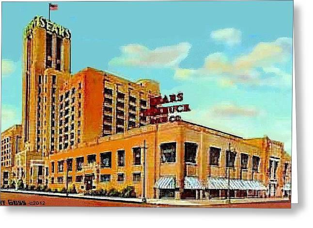 Sears And Roebuck Co. In Minneapolis Mn In 1958 Greeting Card