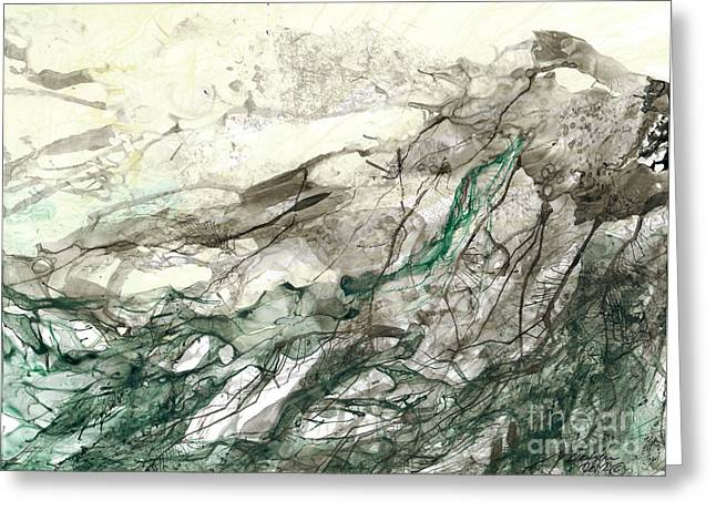 Seascape 04 Greeting Card by David W Coffin