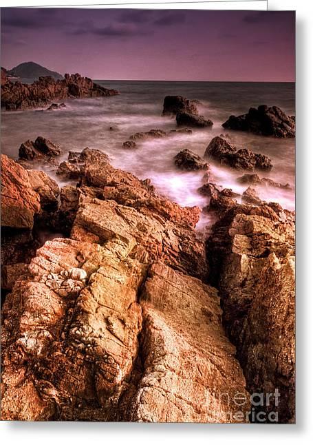 Seascape Greeting Card by Buchachon Petthanya