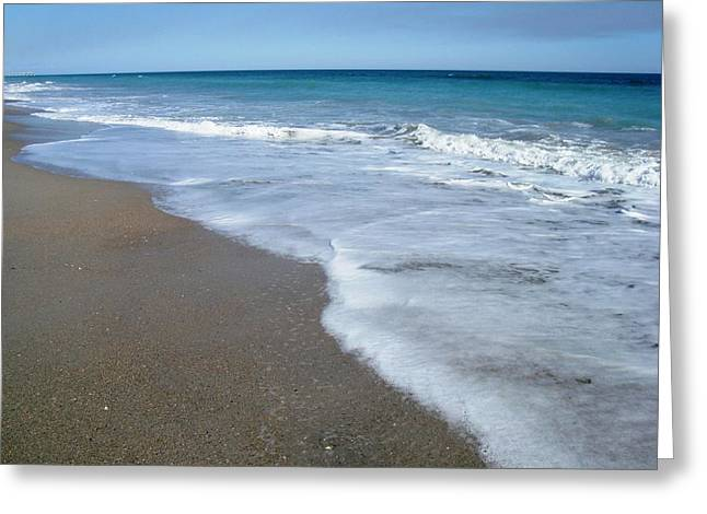 Seascape Wrightsville Beach Nc  Greeting Card
