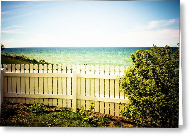 Greeting Card featuring the photograph Seaside Retreat by Sara Frank