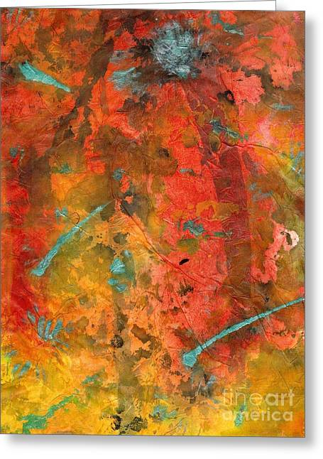 Seasons Of Joy Greeting Card by Angela L Walker