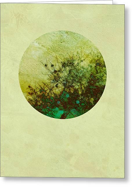 Seasons Of My Garden Greeting Card by Ann Powell