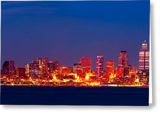 Seattle  Greeting Card by A A