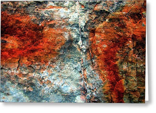Sedona Red Rock Zen 3 Greeting Card by Peter Cutler