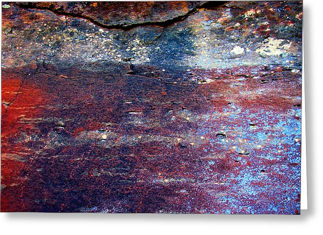 Sedona Red Rock Zen 53 Greeting Card by Peter Cutler