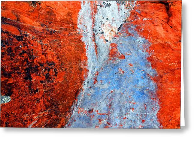 Sedona Red Rock Zen 70 Greeting Card by Peter Cutler