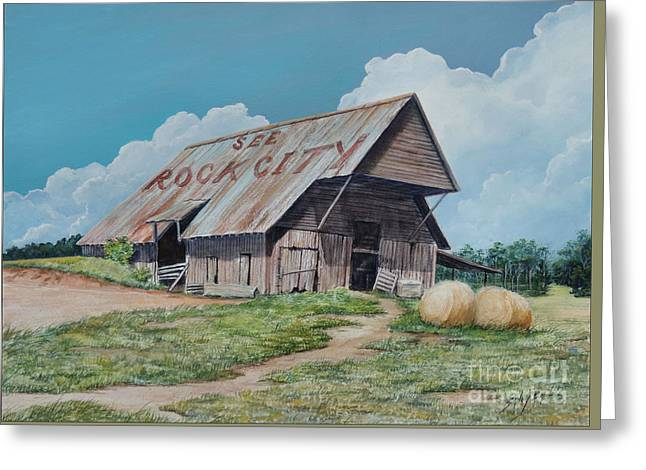 See Rock City Sold  Greeting Card